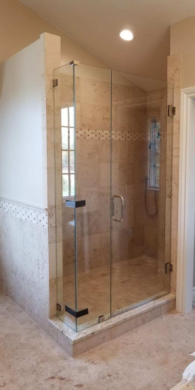 Frameless Diamond Shower I