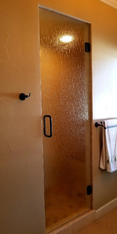 Frameless Steam Room Door I