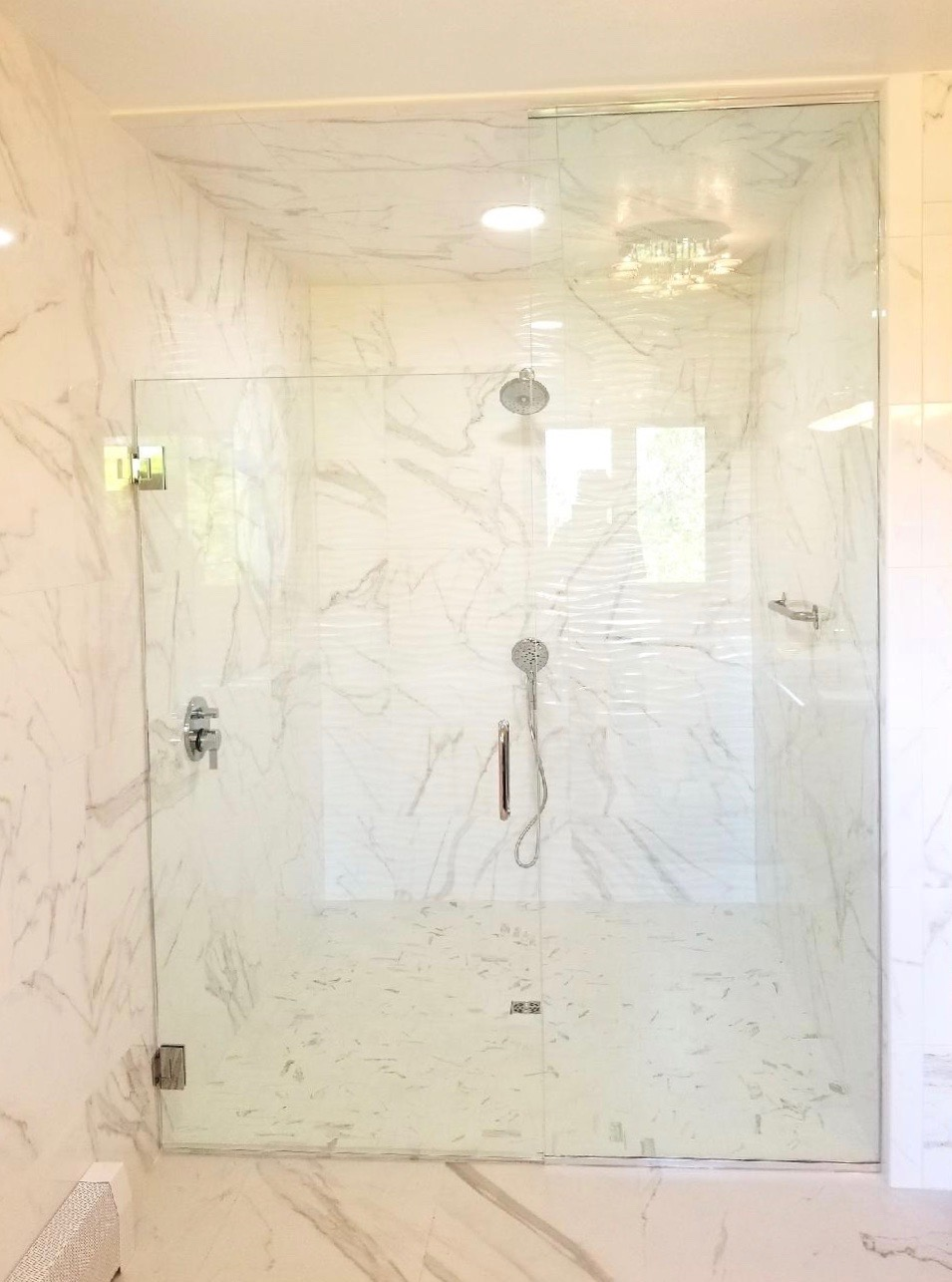 Frameless White Marble 2