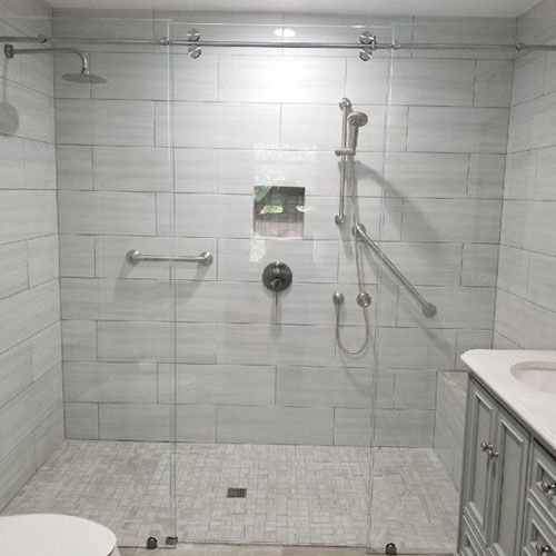 Custom Frameless Shower Door Denver